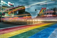 Rainbow crossing
