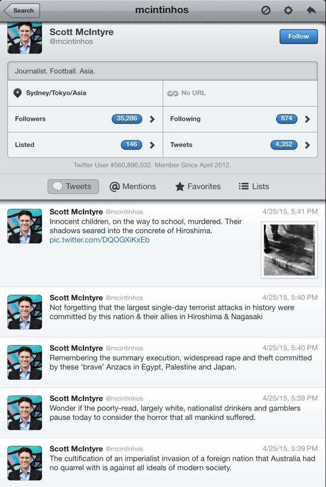 Scott McIntyre tweets