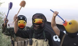 Rubber ducky Daesh