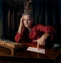 'Self portrait after St Jerome Flanders' by Warren Crossett
