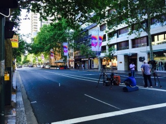 Macquarie Street cordon