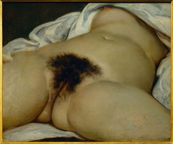 Gustave Courbet, called 'L'Origine du Monde'
