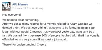AFL Memes
