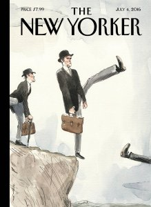 UK EU Referendum New Yorker cover
