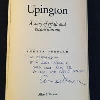 Upington autographed