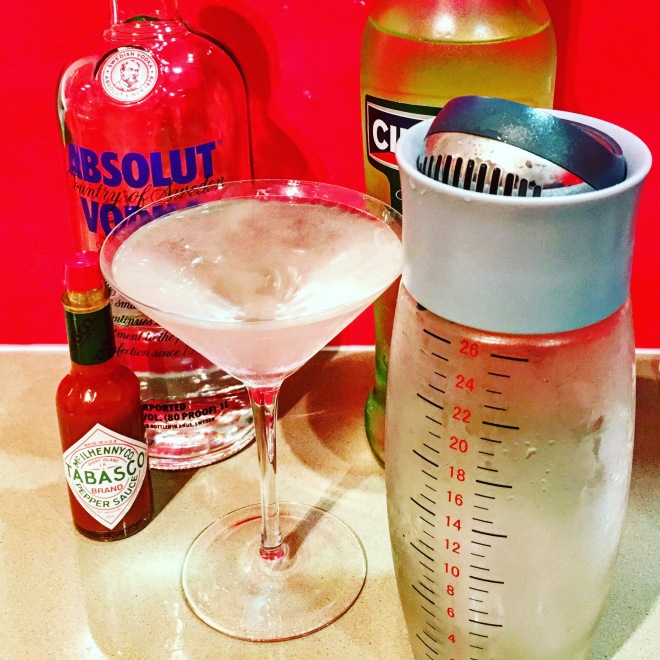 Tabasco Martini