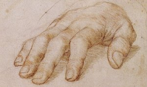 Holbein Right Hand