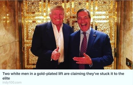 Gold elevator