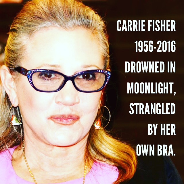 Carrie Fisher Obit