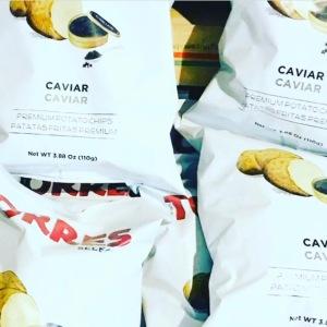 Torres caviar potato chips