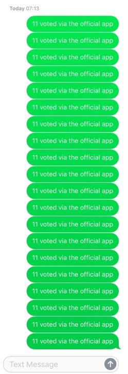 Eurovision 2017 vote